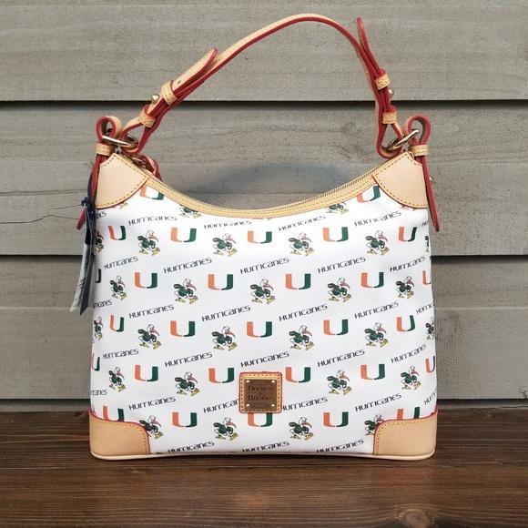 Dooney & Bourke Handbags - Dooney and Bourke Miami Hobo Bag Ibis UM White